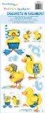 RoomMates RMK0043SS Ducks Peel & Stick Single Sheet