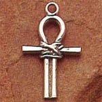 ▼イッティ・ビッティ・アンク・ペンダント●「生命の鍵」の名でも広く知られるエジプトのアンク十字のペンダントです。アンクは生命の象徴として、そしてまた不死や不滅の象徴などとしても知られ、イシスとオシリスの神秘的な関係を象徴しているとも伝えられています。