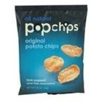 Popchips Popchips Sea Salt- 24 - 0.8 oz (23g) bags