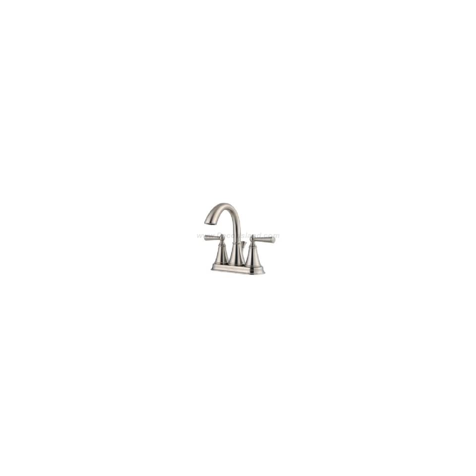 Price Pfister GT48 GL0K 4 Centerset Lavatory Faucet W/ Metal Pop Up Drain