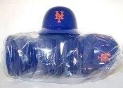 MLB Ny Mets Mini Batting Helmet Ice Cream Snack Bowls- Pack of 20 by Rawlings