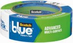 Scotchblue Painter's Tape Multi-Surface with Advanced Edge-Lock Paint Line Protector, 1.41 inch x 60 yd, 16 per Case