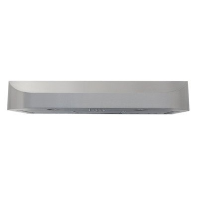 "Windster Ws-208L30Ss 30"" Under Cabinet Range Hood With 680 Cfm And Stainless Steel Construction, Stainless Steel front-454235"