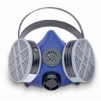 Buy Survivair Blue 1 Half Mask Respirator w/o Speaking Diaphragm S-Series/Med (Survivair Painting Supplies,Home & Garden, Home Improvement, Categories, Painting Tools & Supplies, Prep Materials, Masks)