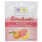 Aura Cacia Tangerine and Grapefruit Foam Bath (6x2.5 Oz)