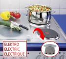 WENKO Herdabdeckplatten für den Elektroherd