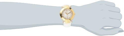 Imagen de Versace Mujeres 68Q70D498 S001 REVE oro amarillo Ion-plateado de acero inoxidable la madre-de-perla Dial Fecha reloj