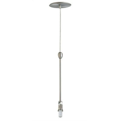 Ambiance Contemporary Pendant Assembly Kit with Optional Shade in Antique Brushed Nickel