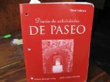 img - for Diario de actividades (with Audio CD) for De paseo: Curso intermedio de espanol, 3rd (Spanish and English Edition) book / textbook / text book