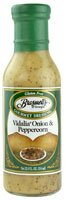 Braswells Gourmet Dressing Vidalia Onion   Peppercorn 8212