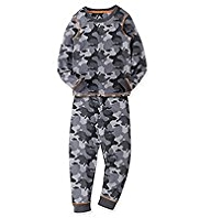 Camouflage Thermal Vest & Pants Set