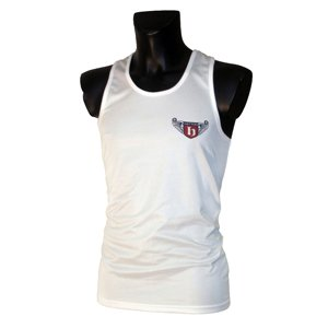 Hatton Boxing Club Vest - White, Youth's