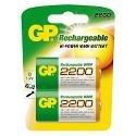GP Batteries(UK)Ltd GP220DHC2 2 X 2200 D GP NIMH
