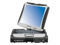 Panasonic Toughbook 19 Touchscreen PC version - Core 2 Duo SU9300 / 1.2 GHz - Centrino 2 with vPro - RAM 2 GB - HDD 160 GB - GMA 4500MHD Dynamic Video Memory Technology 5.0 - Gigabit Ethernet - WLAN : Bluetooth 2.0 EDR, 802.11 a/b/g/n (draft) - TPM - Vist