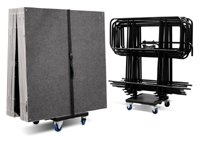 Intellistage Large Portable Stage Trolley - Istrolley by Road Ready