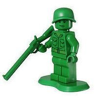Lego Army Man (Infantry)- Toy Store Minifigure - 1
