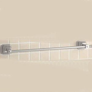 Mico Designs 576 W Satin Nickel Bathroom Accessories 18 Single Towel Bar Great Chance