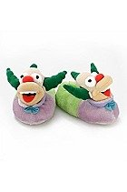 Cheap The Simpsons Krusty the Clown Plush Slippers Adult Size Large 9-10 (B001QVEP4O)
