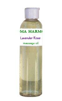 Aroma Harmony Basic Fragrance Massage Oil, 4 Fl. Oz. - Flower Child