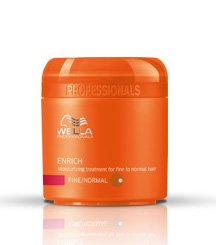 Wella Enrich Moisturizing Treatment for Coarse Hair for Unisex, 16.9 Ounce