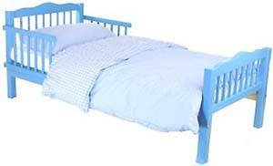 Saplings Junior Bed Blue with Foam Safety Mattress