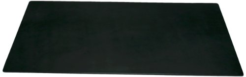 Dacasso Black Leather Desk Mat, 34-Inch By 20-Inch