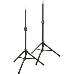 Ultimate Support TS-90B Telelock Tripod Speaker Stand Pair from Ultimate Support