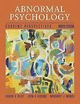 img - for Abnormal Psychology: Current Perspectives by Lauren B. Alloy (2004-02-03) book / textbook / text book