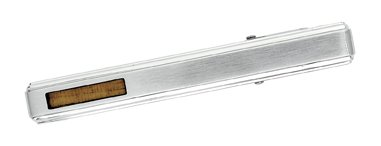 STEL Stainless Steel Wood Inlay Tie Bar