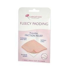 THREE PACKS of Carnation Fleecy Padding