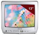 Sansui DTV1300 13-Inch Color TV with ATSC/QAM Tuner