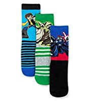 3 Pairs of Star Wars&#8482; Socks