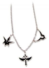 Code Geass: Necklace - Metal Three Symbols Logos