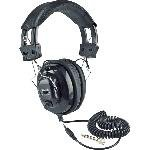 Amplivox Sl1002 Deluxe Stereo Leatherette Headphones With Mono Volume Control