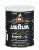 Lavazza Cafe Espresso Coffee - Ground 8 oz Can
