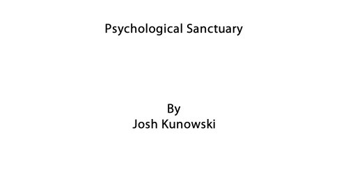 Psychological Sanctuary