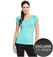 M&S Collection Active Performance T-Shirt