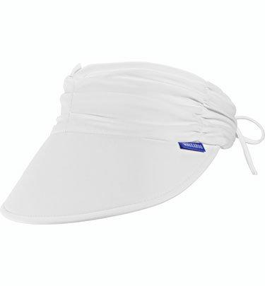 Wallaroo Women s Aqua Sun Visor - Quick-Drying Lightweight Sun Hat ... 969f99169f91