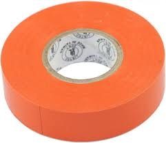 (80 Pack) Premium Grade Orange Electrical Tape Value Pack