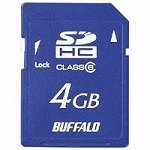 SDHCメモリーカード 4GB RSDC-HG4G