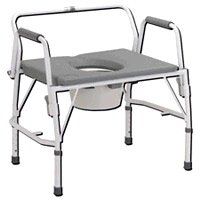 Buy Drive Deluxe Bariatric Drop Arm Commode