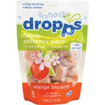 Dropps Scent Booster Pacs w/ In-Wash Softener + Enhancer Pacs, Orange Blossom, 16 Loads