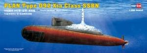 HBB83511 Hobbyboss 1:350 - PLAN Type 092 Xia Class Submarine model kit