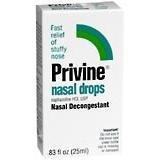 Privine Nasal Drops-0.83 oz