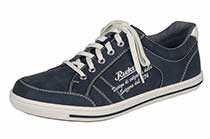Rieker19049 Sneakers-men - Scarpe da Ginnastica Basse Uomo , Blu (blu), 42 eu
