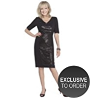 Twiggy for M&S Collection Sequin Embellished Dress