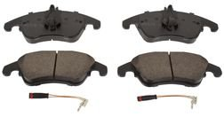 Cheapest 2008-2011 Mercedes-Benz C350 Brake Pads Disc Front, Ceramic
