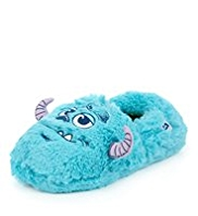 Faux Fur Sulley Slippers