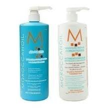 Moroccanoil Hydrating Shampoo & Conditioner Liters