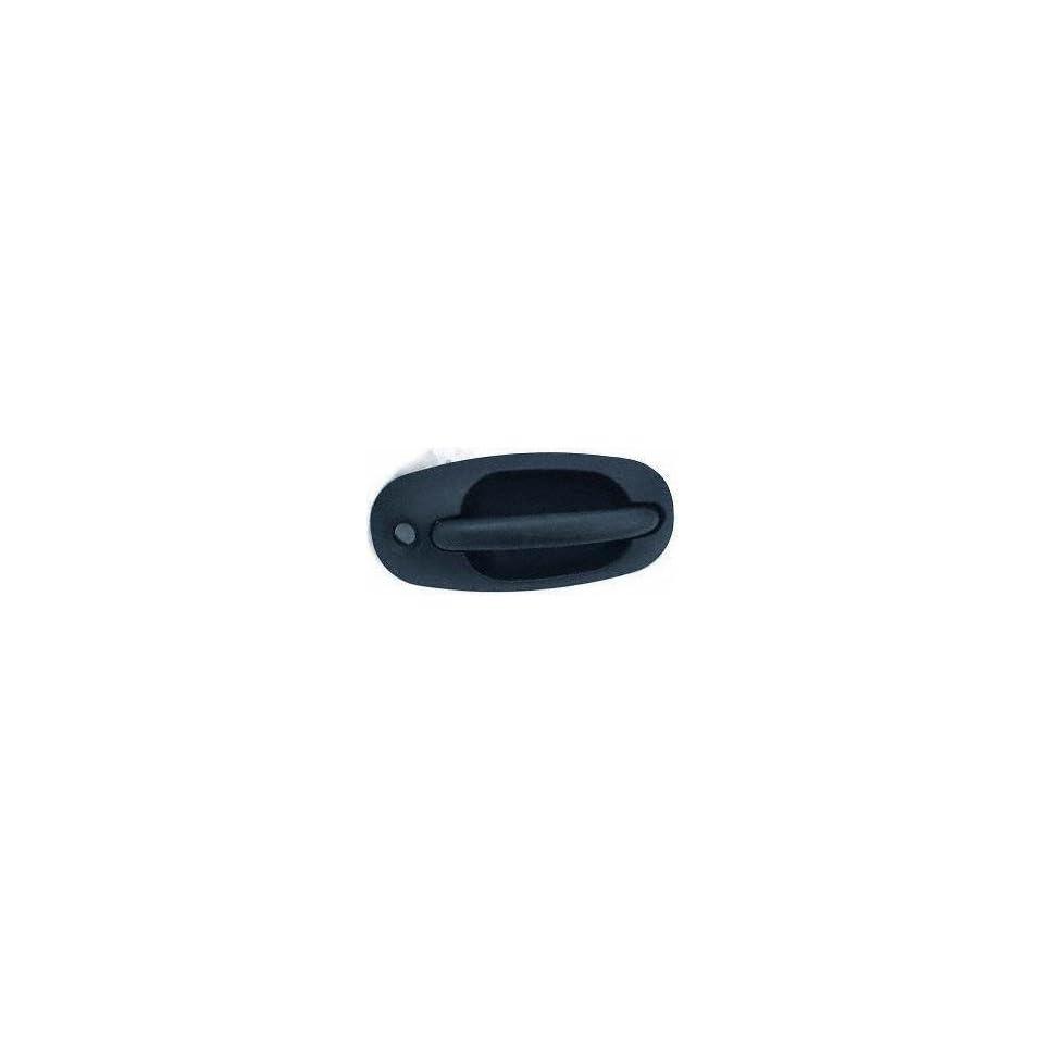 96 00 PLYMOUTH GRAND VOYAGER FRONT DOOR HANDLE RH (PASSENGER SIDE) VAN, Outer, Black (1996 96 1997 97 1998 98 1999 99 2000 00) D462105 QK02SBK